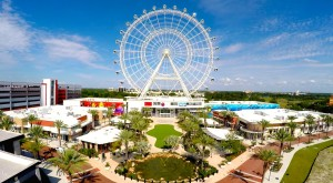 The Aquatic Center is located on International Drive, home to the Orlando Eye among other attractions