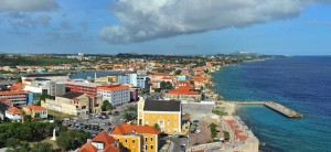 The island of Curacao